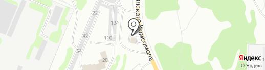 Автомойка на карте Дзержинска
