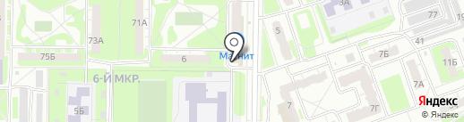 Реноме на карте Дзержинска