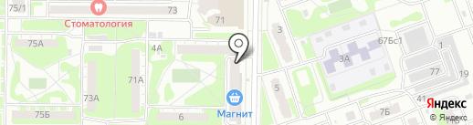 Почтовое отделение №31 на карте Дзержинска