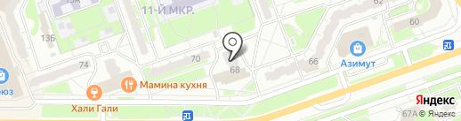 Отдел полиции №3 на карте Дзержинска