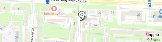 Запад-строй на карте Дзержинска