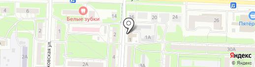 ТЭК на карте Дзержинска