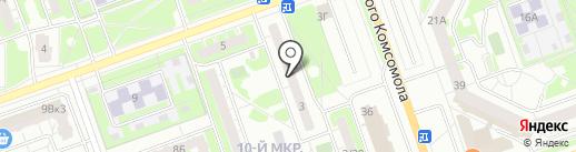 Симплекс интеграция на карте Дзержинска