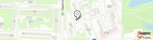 Абдула Fire на карте Дзержинска