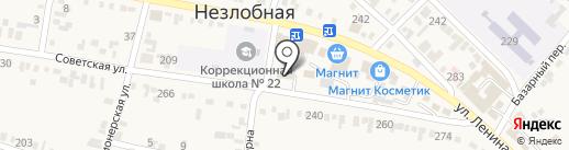 Администрация Незлобненского сельсовета на карте Незлобной