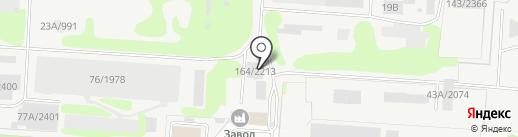 Автокомплекс на карте Дзержинска