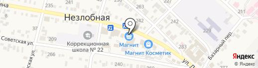 Банкомат, Сбербанк, ПАО на карте Незлобной