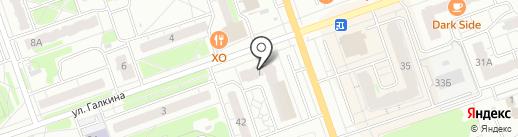 ЭРА на карте Дзержинска