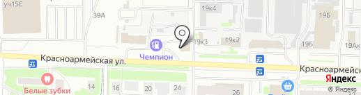 Автопилот на карте Дзержинска