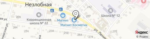Почтовое отделение №1 на карте Незлобной