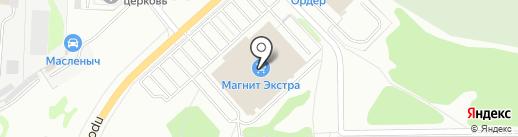 Ригла-НН на карте Дзержинска