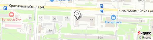 ВЕСНА на карте Дзержинска