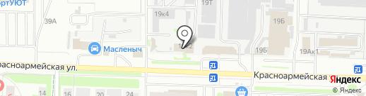 АНКЕРА И КРЕПЕЖНЫЙ ИНСТРУМЕНТ на карте Дзержинска