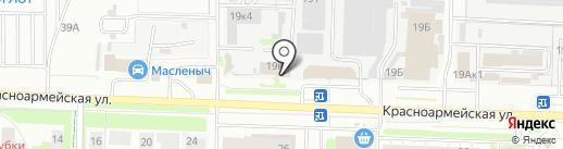 Ангел на карте Дзержинска