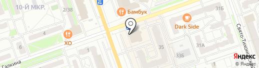 Швейное ателье на карте Дзержинска
