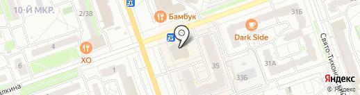 Токио Hall на карте Дзержинска