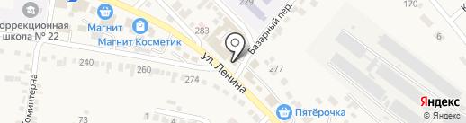 Магазин овощей и фруктов на карте Незлобной