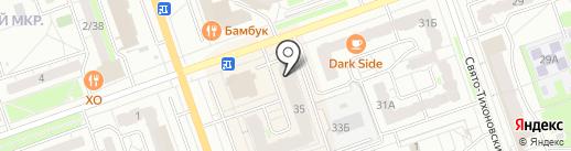 Lumpex на карте Дзержинска