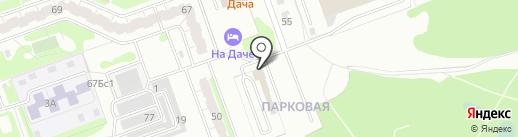 Техлайн на карте Дзержинска