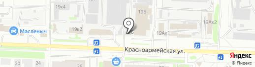 Аккумулятор центр на карте Дзержинска