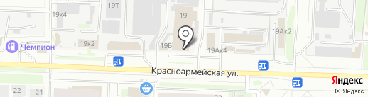 Окна-инвест на карте Дзержинска