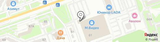 Наше серебро на карте Дзержинска