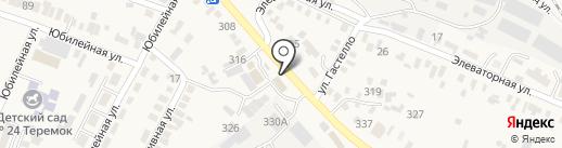 Гиро на карте Незлобной