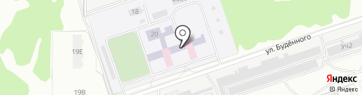 Санаторный детский дом на карте Дзержинска