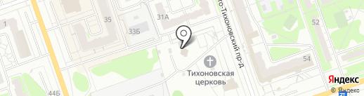 Воскресная школа на карте Дзержинска
