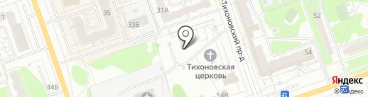 Храм в честь Иоанна Крестителя на карте Дзержинска