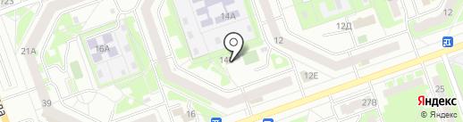 Дзержинская промышленная строительная компания на карте Дзержинска