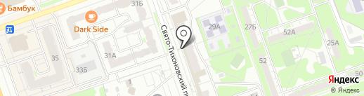 Мастерская по ремонту часов на карте Дзержинска