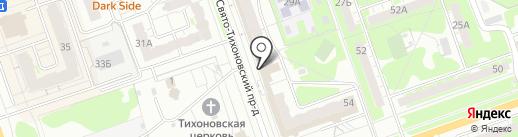 Натали на карте Дзержинска