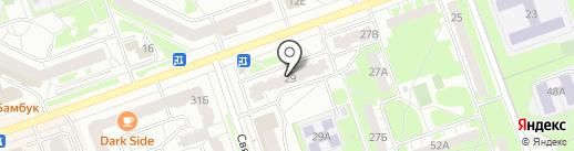 Татьяна на карте Дзержинска
