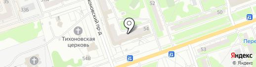 Кварц на карте Дзержинска