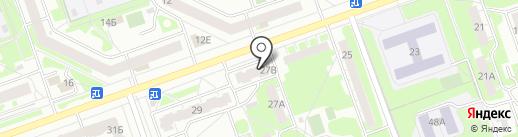 БизониК на карте Дзержинска
