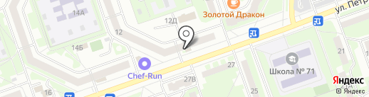 Эксклюзив на карте Дзержинска