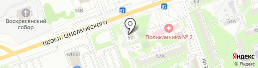 Любимые ОКНА на карте Дзержинска