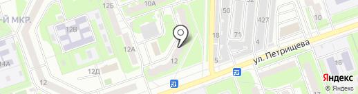 №39 на карте Дзержинска