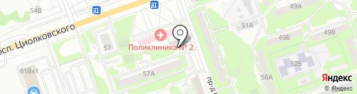КомТех на карте Дзержинска