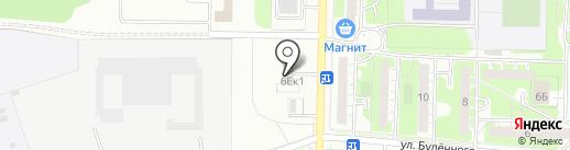 МедиаТранс на карте Дзержинска