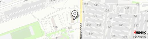 Континент-Сервис на карте Дзержинска