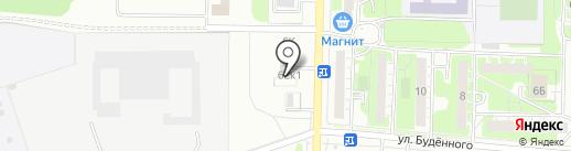 Галлерея на карте Дзержинска