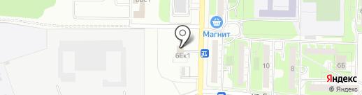 Шоколадная мастерская на карте Дзержинска