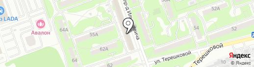 Школа бокса им. В.А. Галкина на карте Дзержинска