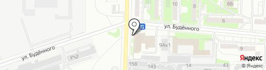 Топаз на карте Дзержинска