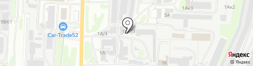 СтальГарант на карте Дзержинска