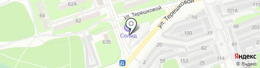 АЗС на карте Дзержинска