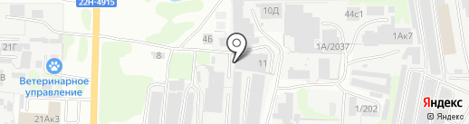 Промтек на карте Дзержинска
