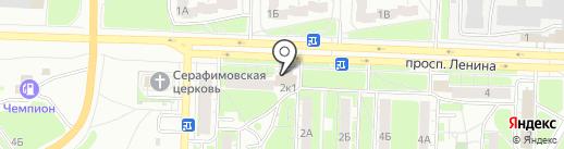 Добрый на карте Дзержинска